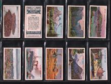 Tobacco cards cigarette cards set Dominions Canada 1914